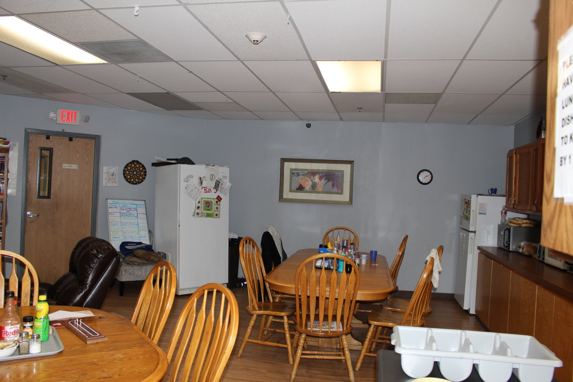 Inpatient Dining Area